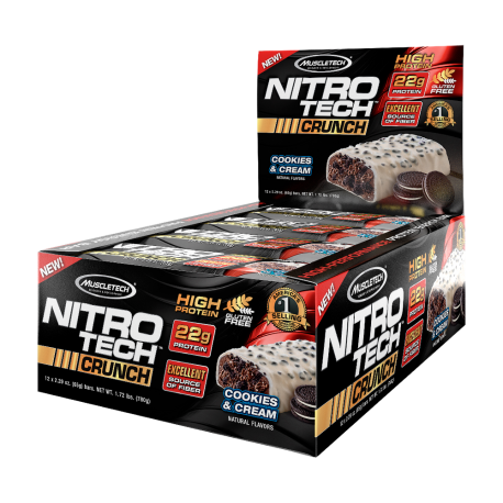 Nitro-Tech Crunch Bar 65 g