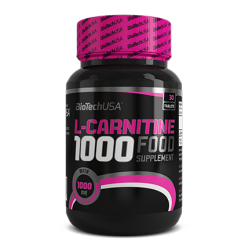 L-Carnitine 1000 Mg 30 caps.