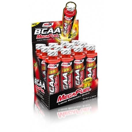 BCAA MegaFuel 6000 12 Ampollas x 150 ml