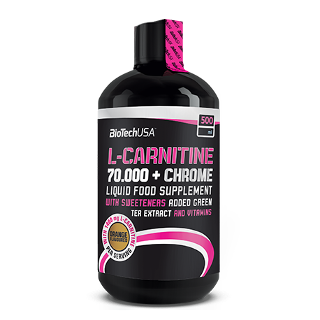 L-Carnitine 70.000 mg + Chrome 500 ml