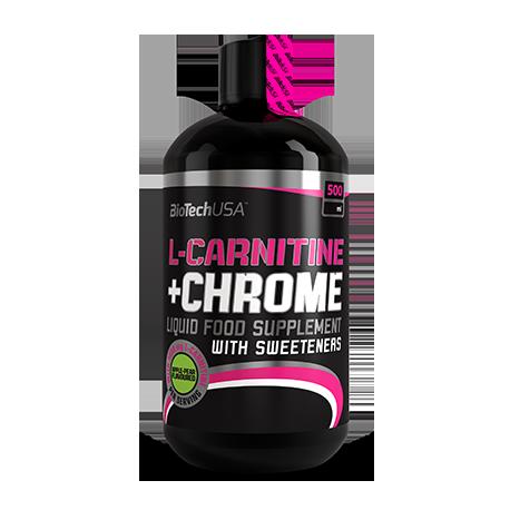 L-Carnitina + Chrome 500 ml