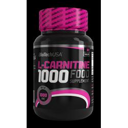 L-Carnitine 1000 Mg 30 caps.