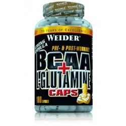 BCAA + L-Glutamine 180 caps.