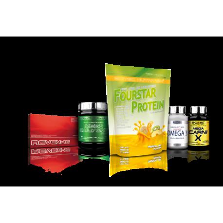 Pack básico para mantener peso y mejorar rendimiento SN