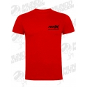 Camiseta AMIX mangas cortas roja