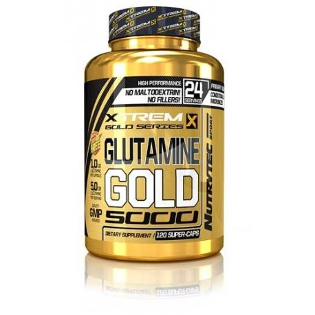 Glutamine Gold 120 caps.