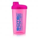 Shaker Scitec Nutrition Neon Rosa