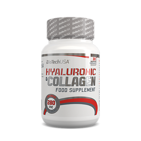 Hyaluronic & Collagen 30 caps.