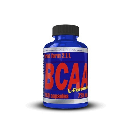 BCAA  free form 2:1:1  240 caps.