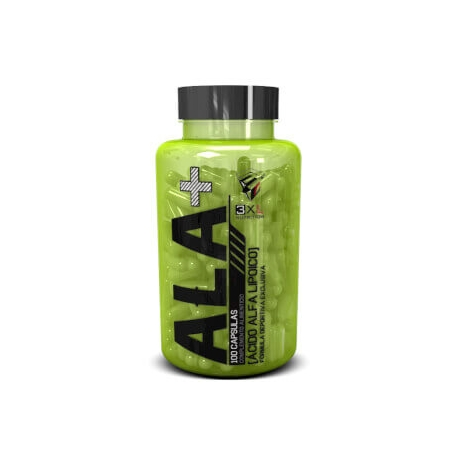 ALA alpha lipoic acid 100 caps.